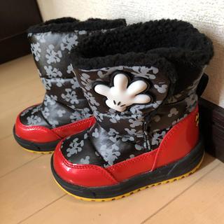ディズニー(Disney)のミッキー スノーブーツ 14センチ(ブーツ)