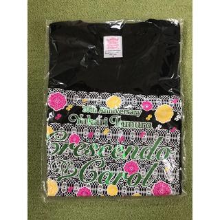 【新品】田村ゆかりさん 2017年ライブTシャツ(ブラック)(Tシャツ)