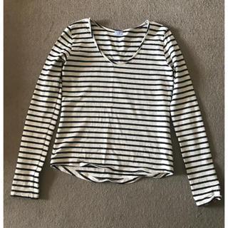 シェル(Cher)のcher bianca's closet のボーダーカットソー(Tシャツ(長袖/七分))