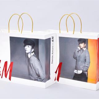 エイチアンドエム(H&M)のH&M  安室奈美恵コラボ ショッパー(アイドルグッズ)