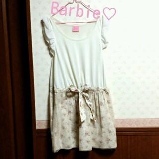 バービー(Barbie)のBarbie♡シフォンワンピース(ミニワンピース)