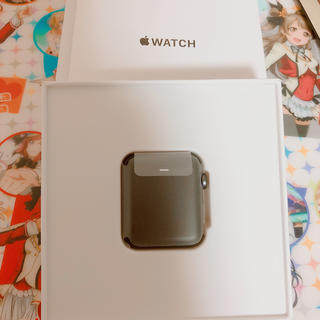 アップルウォッチ(Apple Watch)の激安!! 新品Apple Watch series2! AppleCareあり(スマートフォン本体)