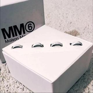 エムエムシックス(MM6)の【MM6】 4連 リング maison margiela マルジェラ(リング(指輪))