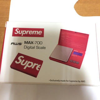 シュプリーム(Supreme)のSupreme 18fw was max-700 digital scale(調理道具/製菓道具)