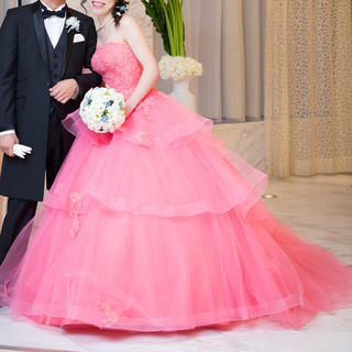 ヴェラウォン(Vera Wang)のサニー0302様カラードレス ynswedding 7号 9号 11号(ウェディングドレス)