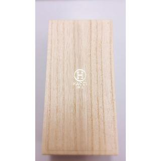 HACCIの金箔押しロゴ入り、木箱!
