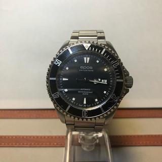 エポス(EPOS)のエポスダイバー ブラックベゼル (腕時計(アナログ))