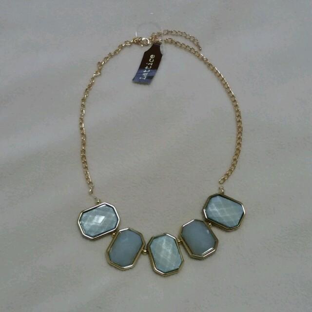 ネックレス2点セット(ブルー系) レディースのアクセサリー(ネックレス)の商品写真