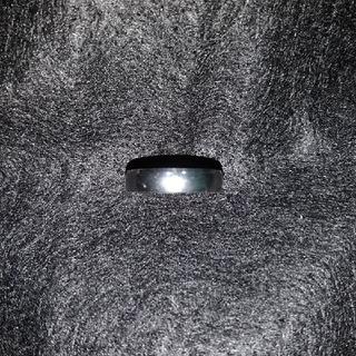 【レディース】シンプルなステンレス製の指輪15号(リング(指輪))