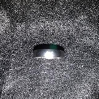 【レディース】シンプルなステンレス製の指輪21号(リング(指輪))