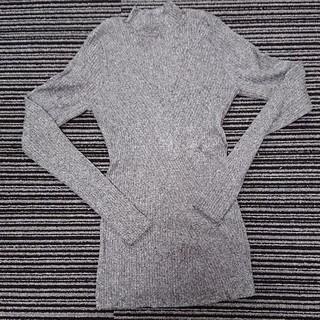 H&M  ニット グレー  サイズ(xs)(ニット/セーター)