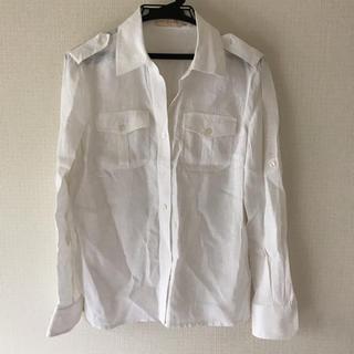 トリーバーチ(Tory Burch)の専用【⚠️在庫処分❗️】【TORY BURCH】白シャツ(Tシャツ(長袖/七分))