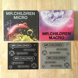 シールあり 初回盤 ミスチル ベスト アルバム セット ミクロ マクロ(ポップス/ロック(邦楽))