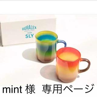 スライ(SLY)の@SLY  マグカップセット(グラス/カップ)