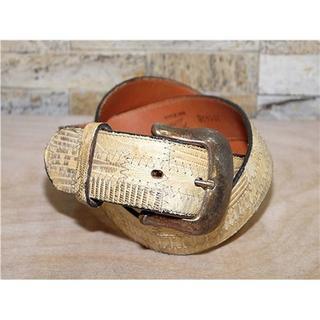 トニーラマ(Tony Lama)の未使用品 リザード革 トニーラマ ベルト USA製 30in 72cm~82cm(ベルト)