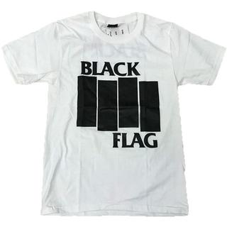 BLACK FLAG/ブラックフラグ プリントTシャツ ホワイト L 男女兼用(Tシャツ/カットソー(半袖/袖なし))