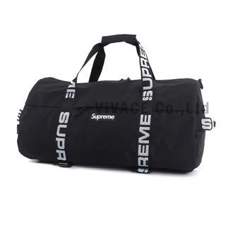 シュプリーム(Supreme)のSupreme Duffle Bag 黒 小(ドラムバッグ)