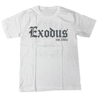 EXODUS/エクソダス プリントTシャツ ホワイト L 男女兼用(Tシャツ/カットソー(半袖/袖なし))