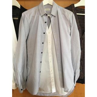 ドリスヴァンノッテン(DRIES VAN NOTEN)のドリスヴァンノッテン レイヤードシャツ 44 DRIES VAN NOTEN(シャツ)