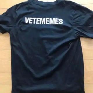 サンベットモン(saintvêtement (saintv・tement))のヴェトミームス Tシャツ Lサイズ 最終値下げ(Tシャツ/カットソー(半袖/袖なし))