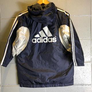 アディダス(adidas)のadidas  アディダス ビッグロゴ    ベンチコート(コート)