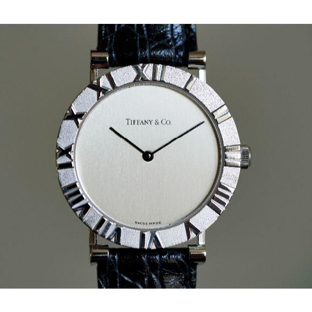 buy online 8aae1 5a55b 美品 ティファニー アトラス シルバー SV925 メンズ Tiffany