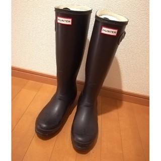 ハンター(HUNTER)のHUNTER レインブーツ オーベルジン(レインブーツ/長靴)