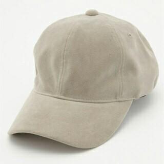 マウジー(moussy)のmoussy マウジー フェイクスウェード キャップ 帽子(キャップ)