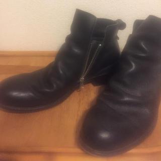 パドローネ(PADRONE)の PADRONE MUSEUM サイド ジップ ブーツ(ブーツ)