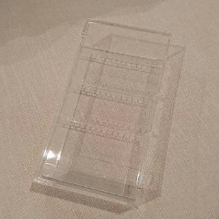 ムジルシリョウヒン(MUJI (無印良品))の無印良品 アクリルケース ピアスケース アクセサリーケース(小物入れ)