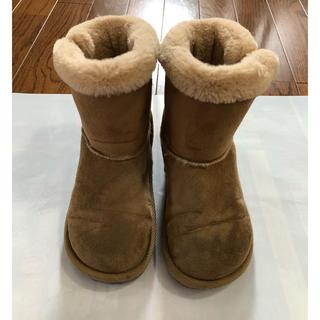 ジーユー(GU)の子供靴 ムートンブーツ 19センチ(ブーツ)
