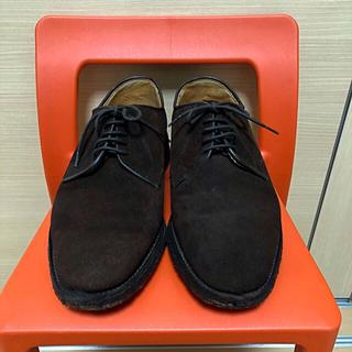 グレンロイヤル(GLENROYAL)の42nd royal highland スエード 靴 シューズ 茶 ブラウン(ドレス/ビジネス)