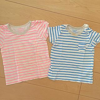 コドモビームス(こども ビームス)のこどもビームス おそろボーダーTシャツ 100センチ 80センチ(Tシャツ/カットソー)