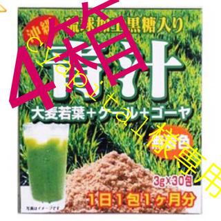 cyapital様⭐️ 送料込⭐️青汁 4箱120包 野菜不足の方 ゴーヤ 大麦(青汁/ケール加工食品)