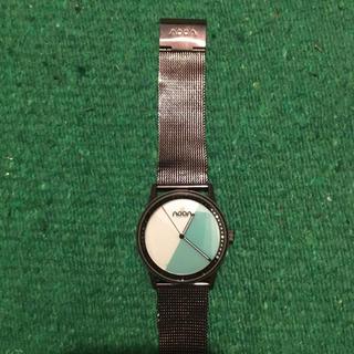 ヌーンコペンハーゲン(noon copenhagen)のnoon 腕時計 水色文字盤(腕時計(アナログ))