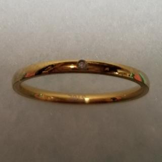 【桜&さくら様専用】サージカルステレンス ダイヤ リング 指輪(リング(指輪))