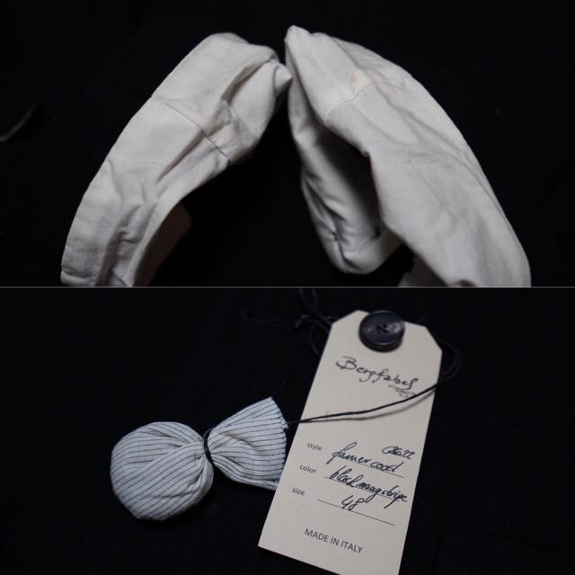 Paul Harnden(ポールハーデン)のBergfabel long tyrol jacket (black) メンズのジャケット/アウター(チェスターコート)の商品写真