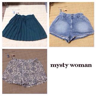 ミスティウーマン(mysty woman)のmysty woman 3点セット(ショートパンツ)