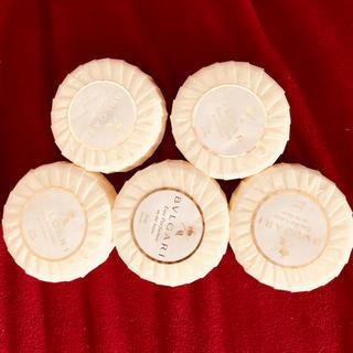 ブルガリ(BVLGARI)のブルガリ 石鹸 5個セット(ボディソープ / 石鹸)