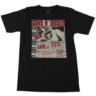 ガンズ・アンド・ローゼス プリントTシャツ ブラック Mサイズ 男女兼用(Tシャツ(半袖/袖なし))