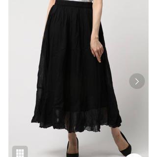 アントマリーズ(Aunt Marie's)の【新品】Aunt Marie's コットンマキシスカート(ロングスカート)