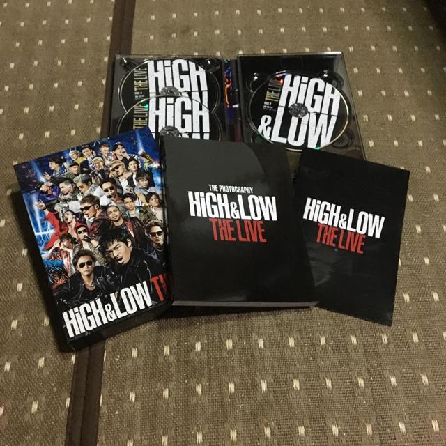 EXILE TRIBE(エグザイル トライブ)のHiGH&LOW LIVE DVD エンタメ/ホビーのDVD/ブルーレイ(ミュージック)の商品写真