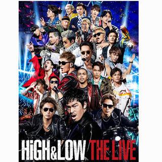 エグザイル トライブ(EXILE TRIBE)のHiGH&LOW LIVE DVD(ミュージック)