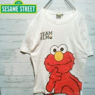 【大人気】SESAME STREET Tシャツ エルモ 897