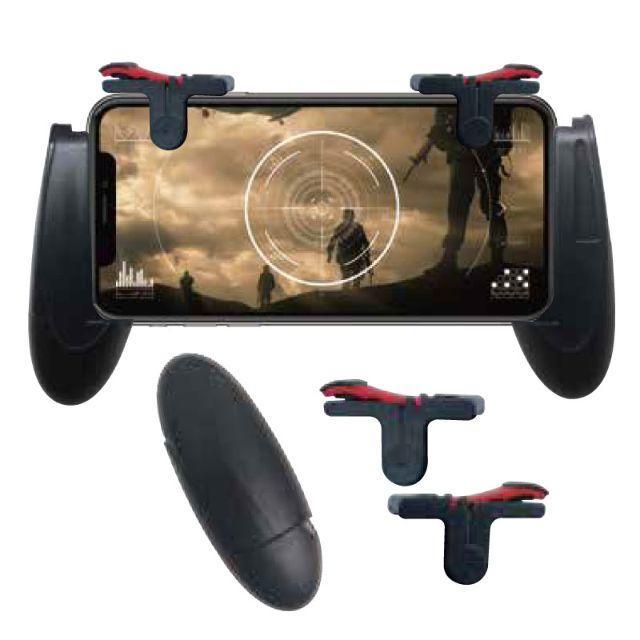 スマホ用ゲームコントローラー MOBILE GAMEPAD スマホ/家電/カメラのスマートフォン/携帯電話(その他)の商品写真