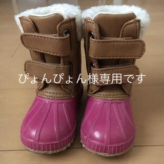 ベビーギャップ(babyGAP)の♡極美品♡ベビーギャップスノーブーツ 12.5〜13.5(ブーツ)
