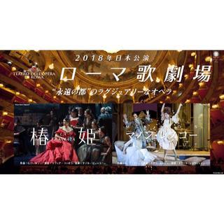 ローマ歌劇場「椿姫」9月17日(祝)S席1階前方席(オペラ)