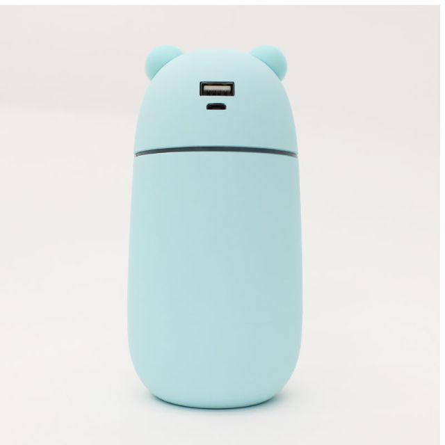 USBポート付きクマ型ミニ加湿器「URUKUMASAN(うるくまさん)」 スマホ/家電/カメラの生活家電(加湿器/除湿機)の商品写真