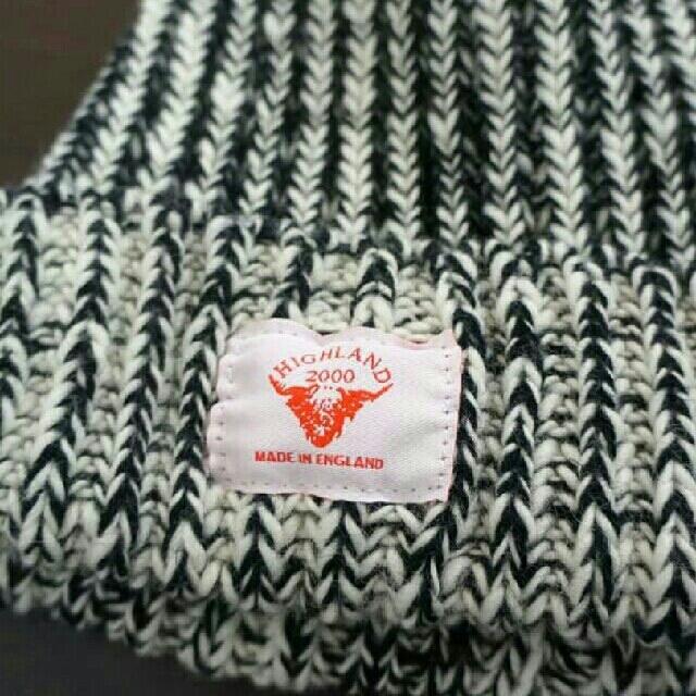 Hiland Club(ハイランドクラブ)のハイランド2000 ミックス ニット帽 正規品 レディースの帽子(ニット帽/ビーニー)の商品写真