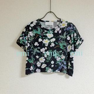マメ(mame)のmame Tシャツ 花柄(シャツ/ブラウス(半袖/袖なし))